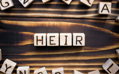 Is there a difference between a beneficiary, heir and descendant?